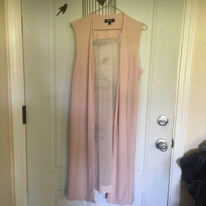 DKNY long sleeveless tunic or vest like